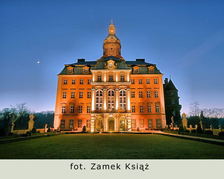Historyczna realizacja. Zamek Książ.